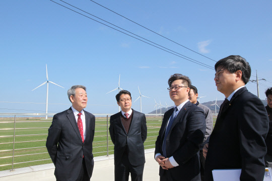 박일준 동서발전 사장, 친환경 에너지 사업현장 점검